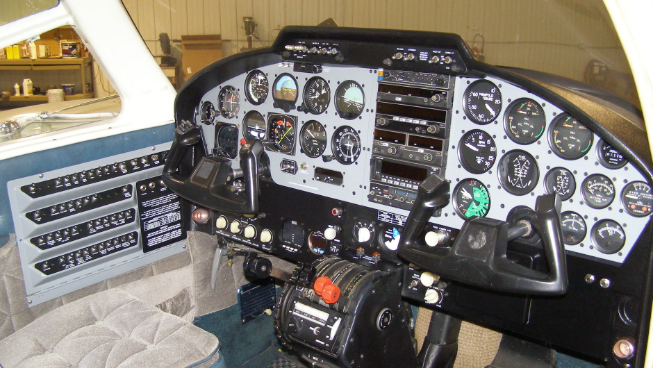 Cost Effective Cessna 310G Panel Upgrade